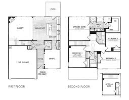 alexander floor plan at the springs at burnt bridge in ga
