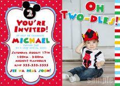free printable mickey mouse birthday invitation free