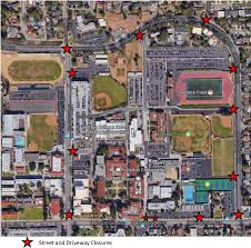 Csuf Map City Of Fullerton 4th Of July