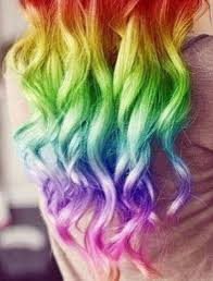 rainbow color hair ideas 2014 hot ombre highlights trend 30 rainbow colored hairstyles