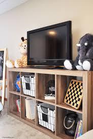 Playroom Storage Ideas by Best 25 Rustic Media Storage Ideas On Pinterest Rustic Media