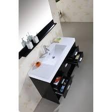 virtu usa ms 575 gloria 48 single sink bathroom vanity in espresso