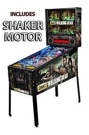 Game Room Furniture Stern Walking Dead Premium Pinball Shaker Game Room Guys