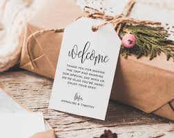 welcome bags for wedding welcome wedding tag wedding welcome bag tag wedding welcome