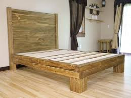 How To Make A Solid Wood Platform Bed by Awesome Wood Platform Bed Frames With Bed Frame Wood Platform Bed