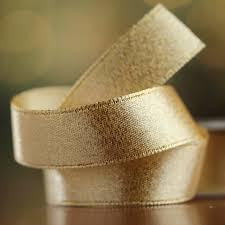 gold satin ribbon shimmering gold satin ribbon ribbon and trims craft supplies