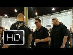sylvester stallone at tattoo convention las vegas 2009 youtube