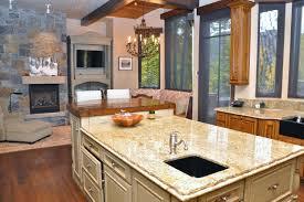 aspen kitchen island gated mountain estate aspen alpine guru