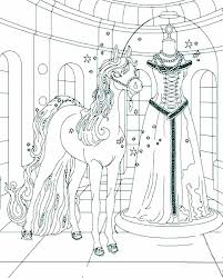 bella magical horse wedding dress coloring pages batch
