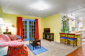 Bright Living Room Colors Lovely Blue And Yellow Living Rooms Popular Blue Paint Colors