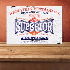 superior metal sign home decor superior sign home wall art