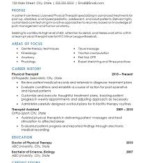 download physical therapy resume sample haadyaooverbayresort com