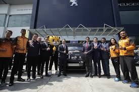peugeot used car event peugeot becomes the official car sponsor for kuala lumpur 2017