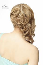 perfectly sculpted upstyle for mid length hair updo ideas