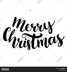 merry christmas text brush vector u0026 photo bigstock