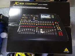 Midas 32 X4c Behringer X32 Compact X 32 32 Channel Digital Mixer Audio