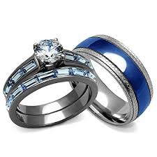 his and hers wedding bands his and hers wedding rings set women s 3 24 carats wedding