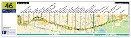 Route 40 Map by Ratp Route Maps For Paris Bus Lines 40 Through To 49