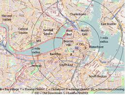 boston tourist map 400px map of boston and cambridge plus jpg