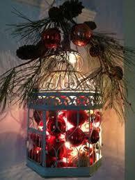 lighted birdcage or lantern 1 add set of