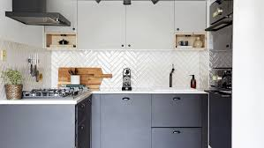 how to cut ceramic tile around kitchen cabinets how to choose the best kitchen tiles real homes