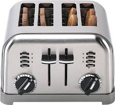Calphalon 4 Slot Stainless Steel Toaster Toasters Small Kitchen Appliances Best Buy