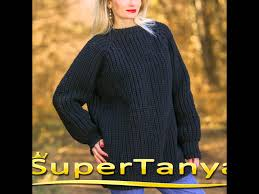 handmade black organic raw wool sweater by supertanya youtube