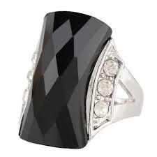 aliexpress buy mens rings black precious stones real new beautiful black silver color rings for women