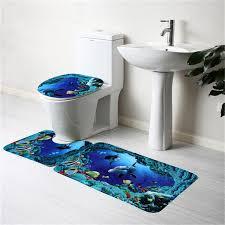 bathroom accessories blue interior design