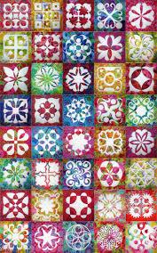kaffe fassett home decor fabric applique magic blocks with kaffe fassett fabrics at jenny haskins