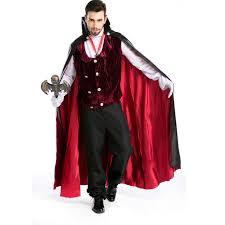 online shop 2017 gothic vampire costume men halloween costume for