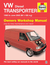 volkswagen transporter t4 haynes manual repair manual workshop