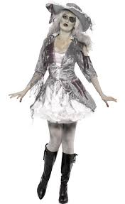 zombie pirate halloween costume ghost ship pirate women u0027s costume