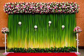 wedding backdrop of flowers backdrop flowers for wedding ceremony stock photo image 23768120