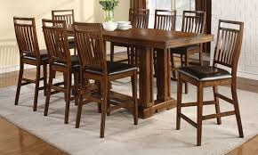 brilliant dining room table height pc counter set in decorating dining room table height