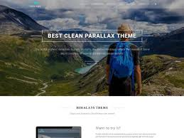 Best Resume Wordpress Theme by 35 Best Free One Page Parallax Wordpress Themes 2016