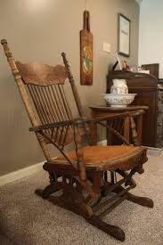 Vintage Childrens Rocking Chairs At Home Couple U0027s Vintage Container Collections Decorate Their