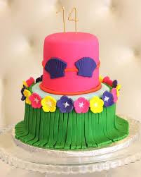 Luau Cake Decorations Rise Cupcakes Luau Cake