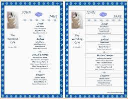 menu template for mac word resume template mac