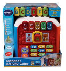 vtech alphabet activity cube toys