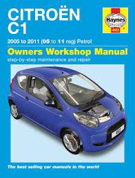 citroen c1 petrol 05 11 haynes repair manual haynes publishing