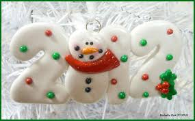 clay christmas tree ornaments christmas lights decoration