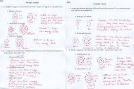 periodic table basics answer key worksheet periodic table trends answer key photos roostanama