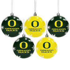 ducks 5 pack shatterproof ornaments