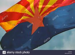 Az Flags Half Mast Arizona Flag Stockfotos U0026 Arizona Flag Bilder Alamy