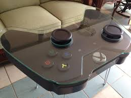 coffee table game console turn your living room into a gaming console by adding a coffee table