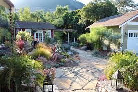 ornamental grass garden ideas landscape mediterranean with garden