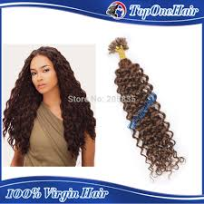 Hair Extensions U Tip by Pre Bonded Curly Human Hair Extensions Indian Remy Hair