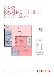 lucas real estate 83 88 kavanagh street southbank vic 3006