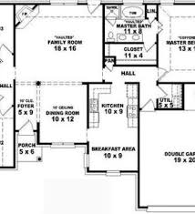 Floor Plan For Residential House Simple House Plans 4 Bedrooms Home Design Ideas